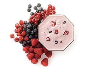 Di ingredienti a base di proteine del latte sulle caratteristiche di