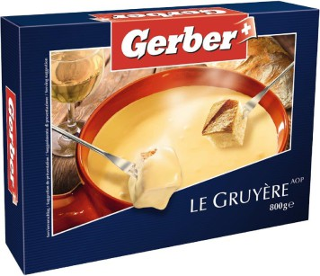 Gerber Fondue le Gruyere 800g Packung