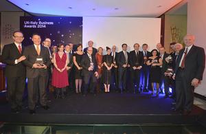 Uk-Italy business awards 2015 Uk-Italy business awards 2015