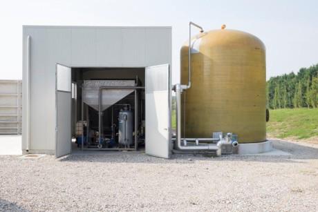 Il flottatore STA è ideale per le aziende del settore lattiero-caseario