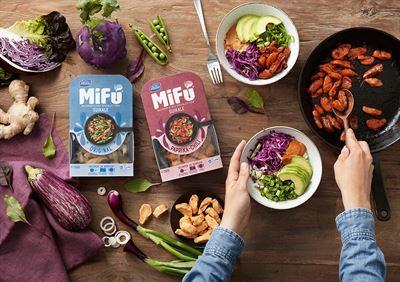 Mifu prodotte da Valio sono dei boccini di latte e proteine del latte che intendono sostituire la carne