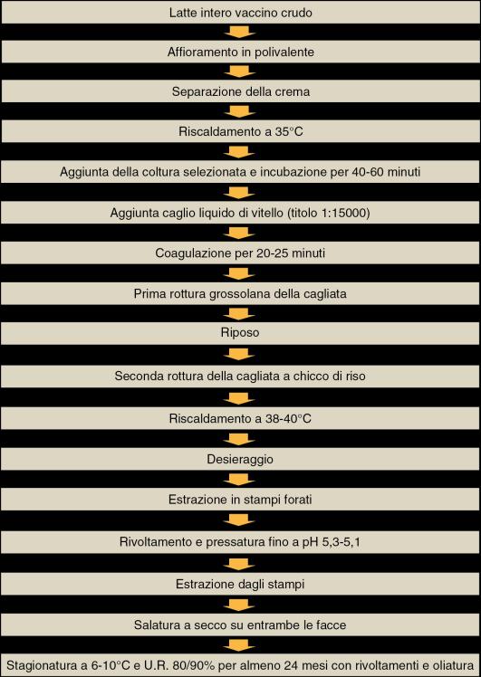 Diagramma di flusso della produzione
