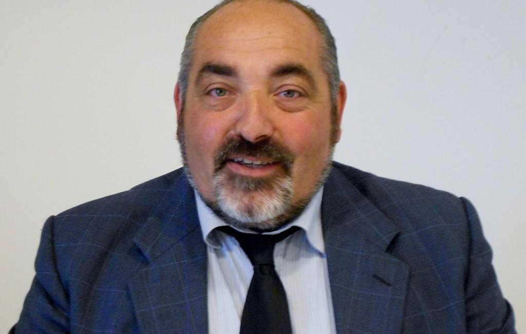 Il presidente della Latteria di Chiuro Franco Marantelli