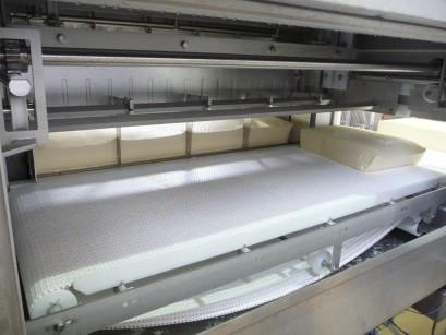 Vista interna dalla pre-pressa cagliata/formaggio