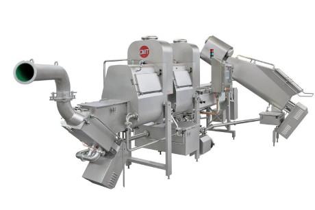 Filatrice serie Discovery, a bracci tuffanti, da 1.500 kg/h
